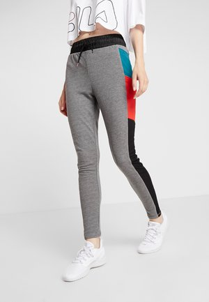 ONPEVE PANTS - Medias - medium grey melange/black