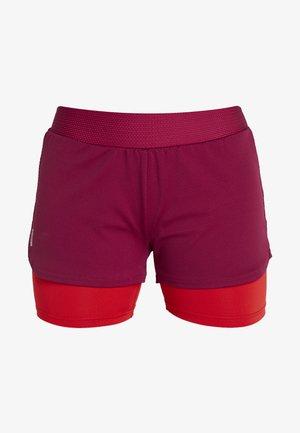 ONPJOELLE LOOSE TRAINING SHORTS - Sportovní kraťasy - beet red/flame scarlet