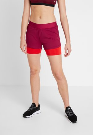 ONPJOELLE LOOSE TRAINING SHORTS - Sports shorts - beet red/flame scarlet