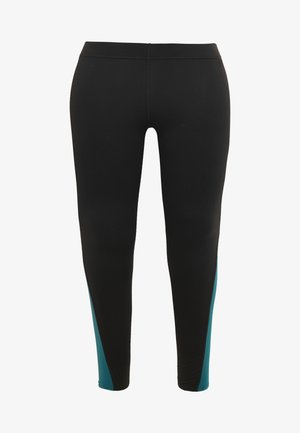 JOYCE LEGGINGS CURVY - Trikoot - black/shaded spruce