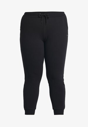 ONPELINA PANTS CURVY  - Tracksuit bottoms - black