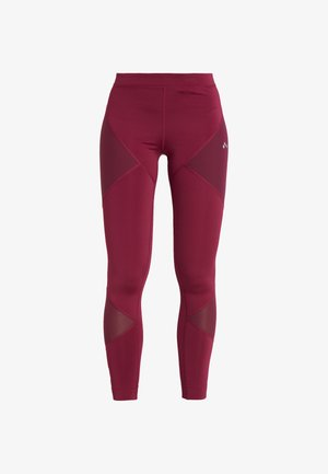 ONPAUDREY TRAINING - Tights - beet red