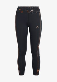 ONLY Play - ONPGOLDIE TRAINING  - Collant - black/rose gold - 3