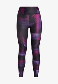 ONLY Play - ONPGOLDIE TRAINING - Legging - black/rave - 3