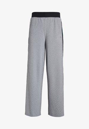 ONPMEDUSA LOOSE PANTS - Teplákové kalhoty - dark grey melange/black
