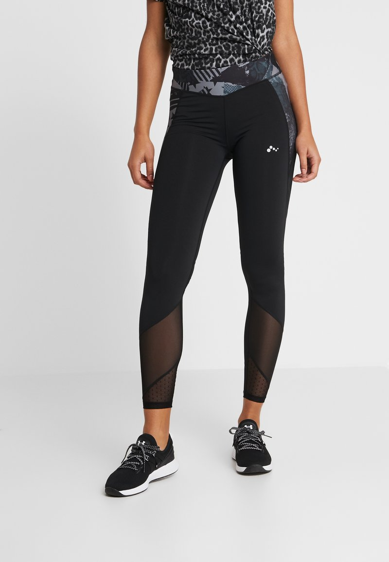 ONLY Play - ONPCAPELLA TRAINING  - Leggings - black/phantom