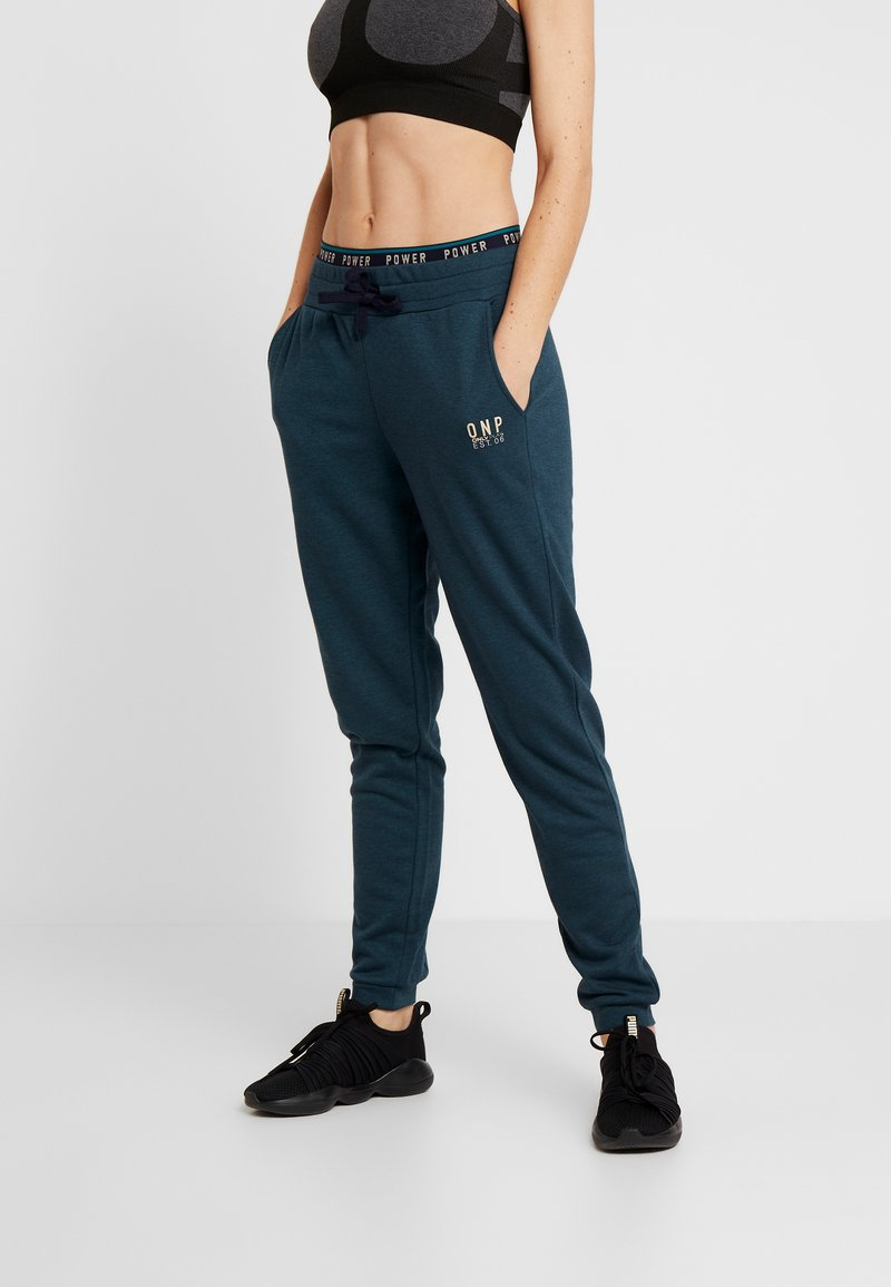 ONLY Play - ONPNAHLA PANTS - Pantaloni sportivi - shaded spruce melange