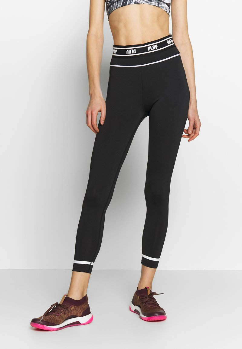 ONLY Play - ONPDAI 7/8 TRAINING - Tights - black/white