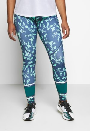 ONPDENISH TRAINING - Leggings - maritime blue/white
