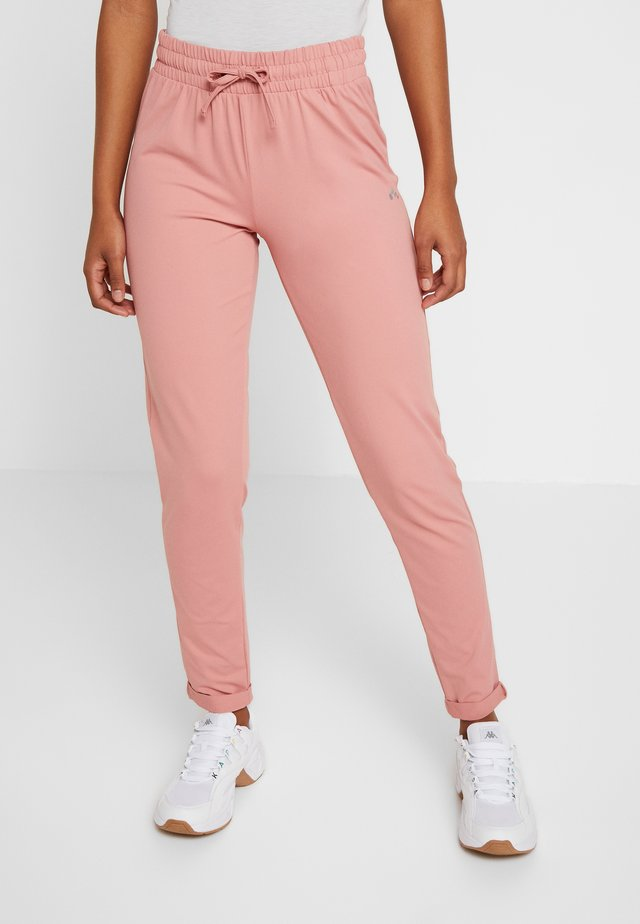 ONPJAVA LOOSE PANTS - Pantaloni sportivi - dusty rose