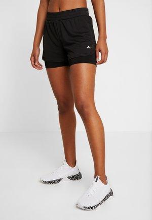 ONPJAVA LOOSE SHORTS - kurze Sporthose - black