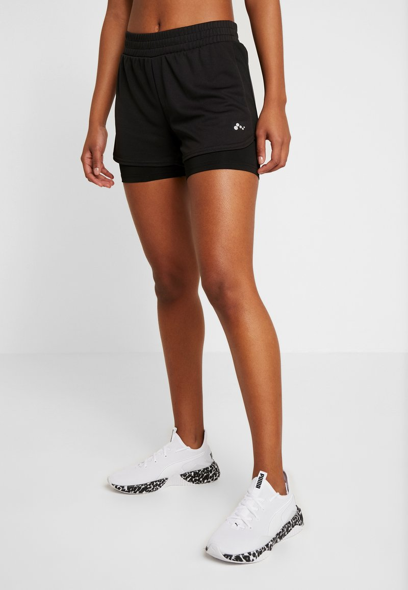 ONLY Play - ONPJAVA LOOSE SHORTS - Sports shorts - black