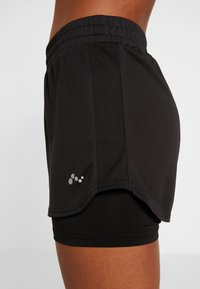 ONLY Play - ONPJAVA LOOSE SHORTS - Sports shorts - black - 5