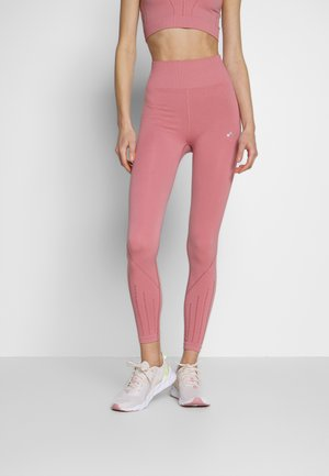 ONPJAVA CIRCULAR - Leggings - dusty rose