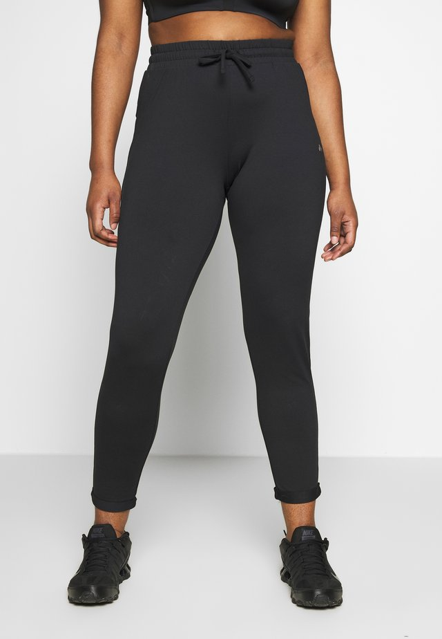 ONPJAVA LOOSE PANTS CURVY - Collant - black