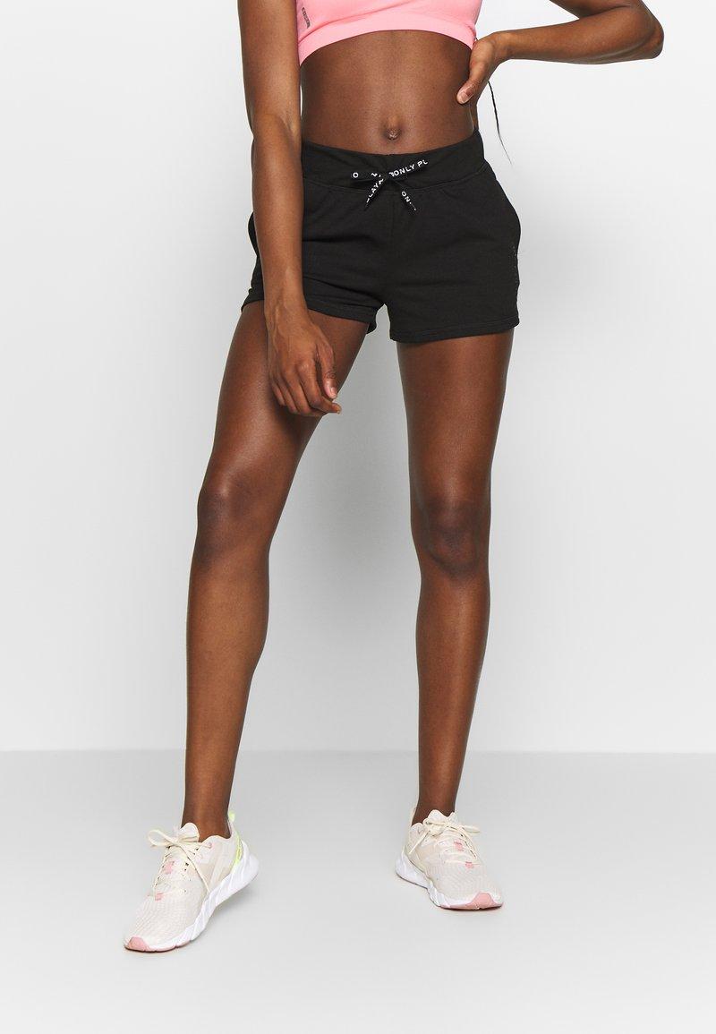 ONLY Play - ONPPERFORMANCE SHORTS - Sports shorts - black