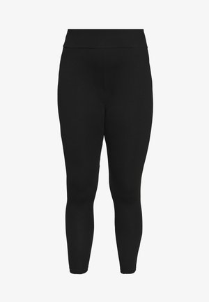 ONPJYNX LIFE LEGGINGS - Trikoot - black/white gold