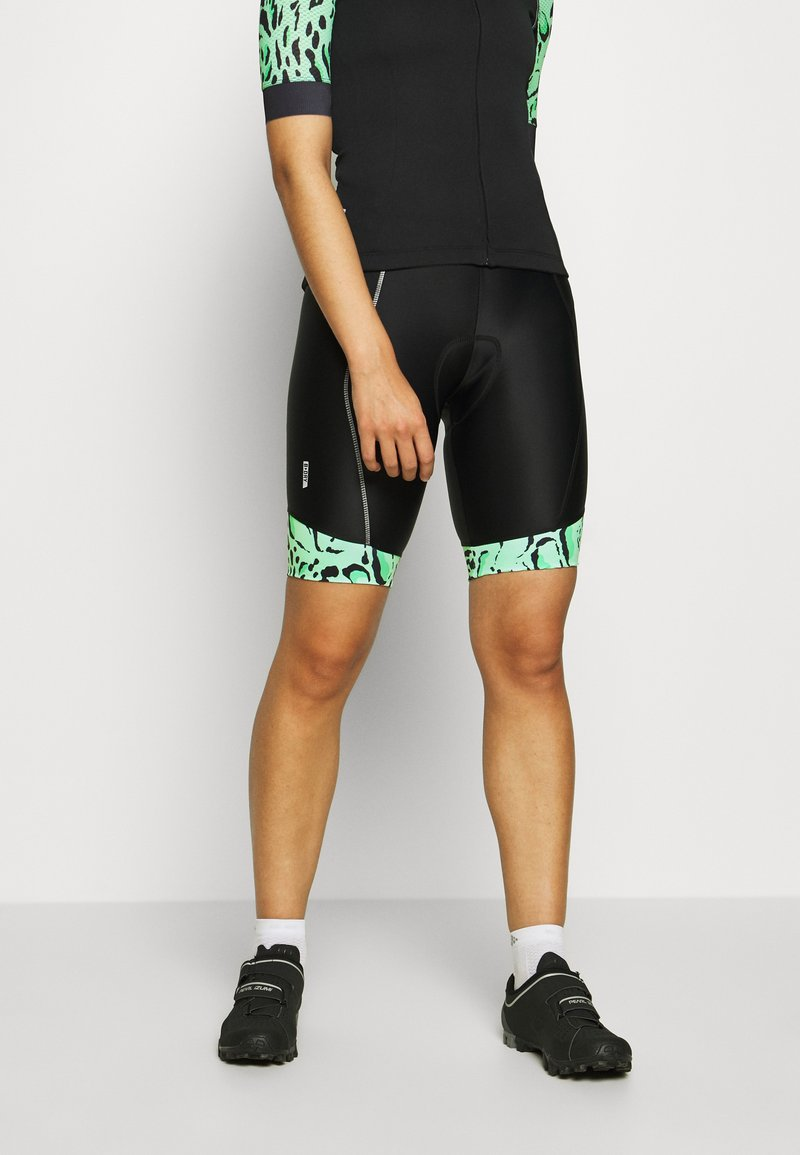 ONLY Play - ONPPERFORMANCE BIKE SHORTS - Tights - green ash