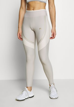 ONPJACINTE TRAINING - Leggings - ashes of roses/lilac ash/white