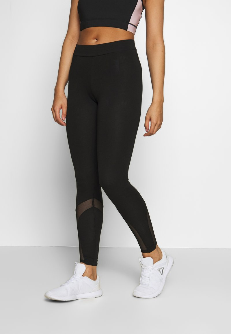 ONLY Play - ONPFRIDA LIFE LEGGINGS - Trikoot - black/white