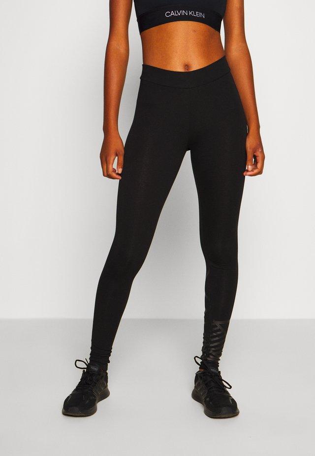 ONPMAGDALENA LIFE LEGGINGS - Leggings - black