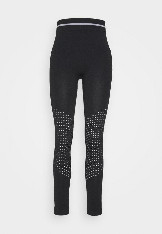 ONPAILA CIRCULAR - Tights - black/white