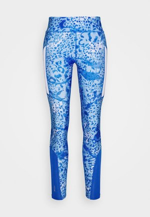 ONPANGILIA LIFE TRAINING - Leggings - imperial blue/white