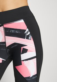 ONLY Play - ONPMINALIS TRAINING - Tights - black/strawberry pink - 4