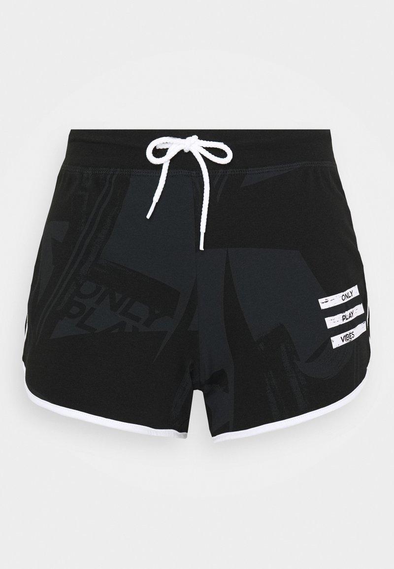 ONLY Play - ONPMAUREEN LIFE  - Sportovní kraťasy - black
