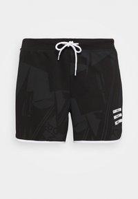 ONLY Play - ONPMAUREEN LIFE SHORTS  - Pantaloncini sportivi - black/white - 0