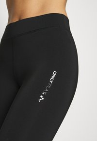 ONLY Play - ONPAZZIE TRAINING - Legginsy - black/black - 4