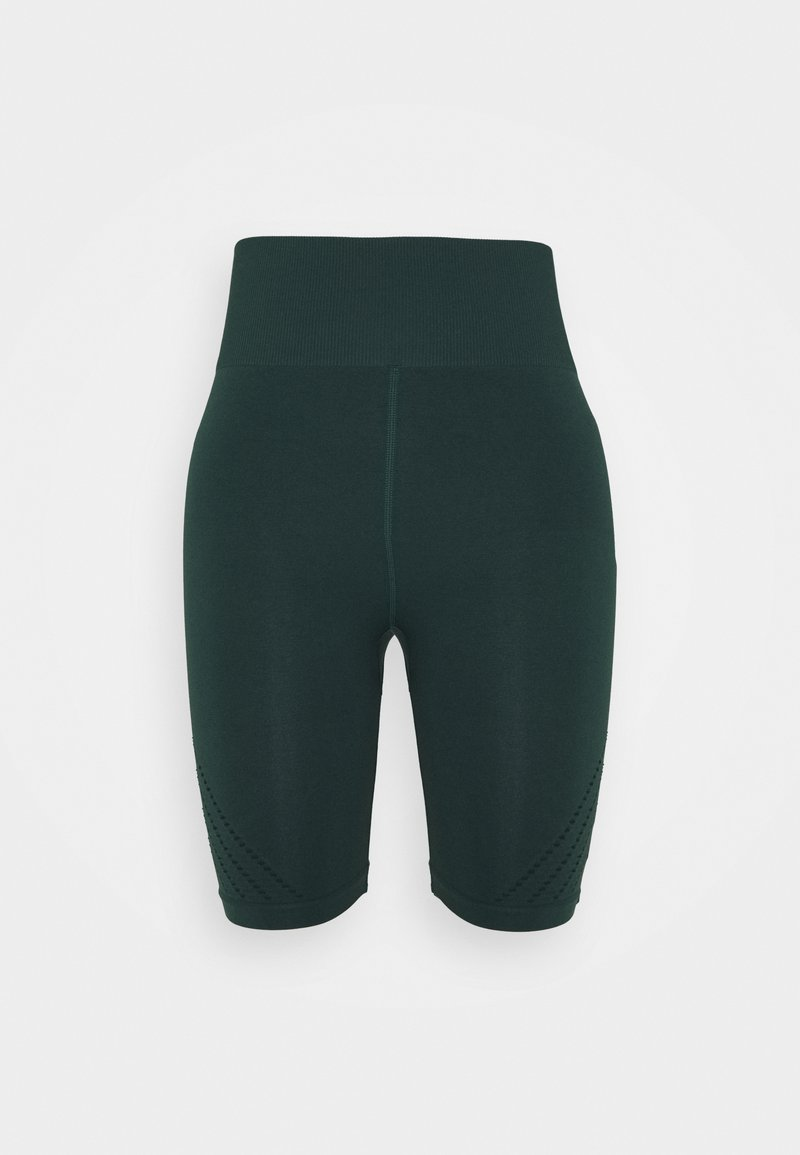 ONLY Play - ONPJAVO CIRCULAR SHORTS - Medias - darkest spruce