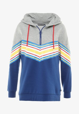 ONPASPEN LONG HOOD  - Bluza z kapturem - light grey melange