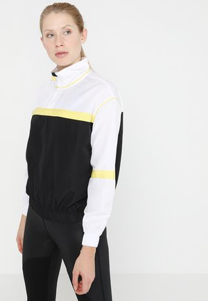 ONPCRISP HALF ZIP HIGHNECK JACKET - Vindjacka - white
