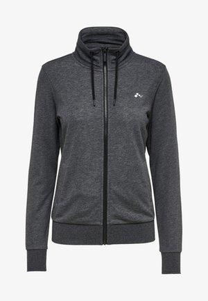 ONPELINA  - veste en sweat zippée - dark grey melange