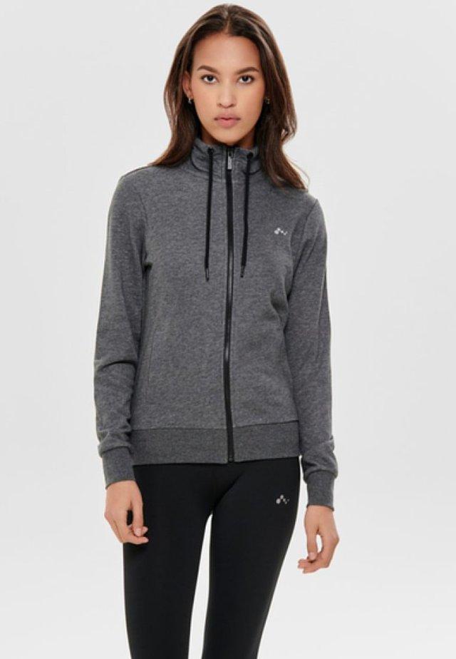 ONPELINA  - Mikina na zip - dark grey melange