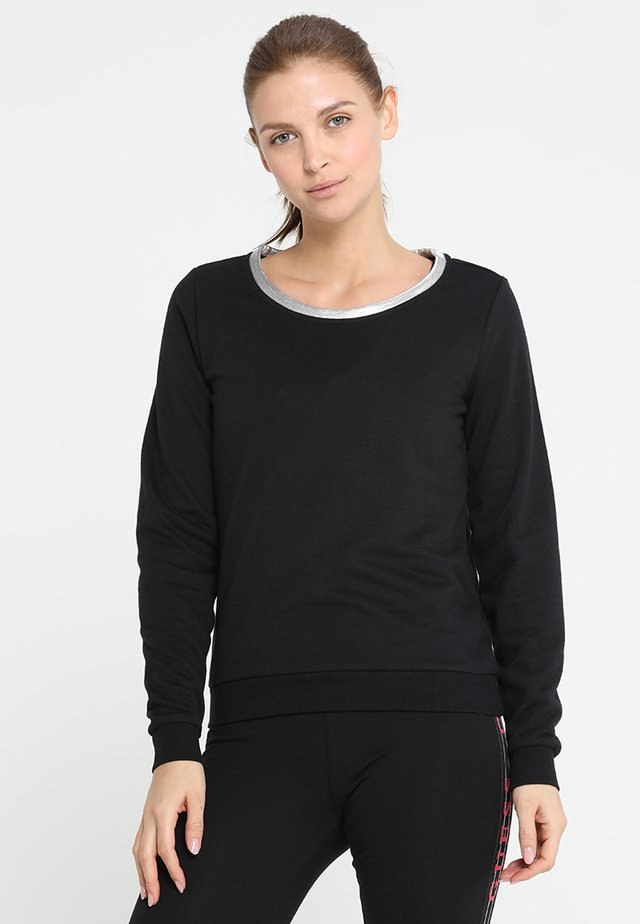 ONPISABELLA REGULAR CREWNECK  - Sweatshirt - black