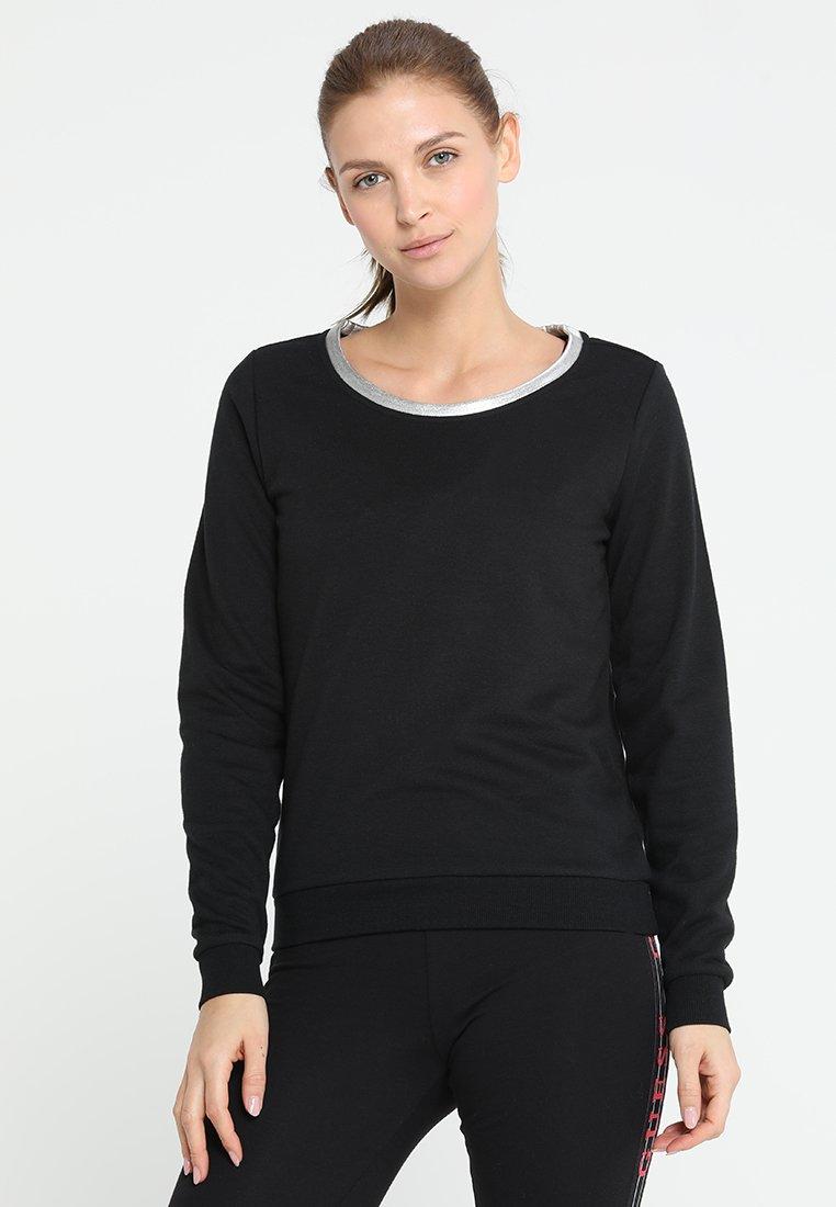ONLY Play - ONPISABELLA REGULAR CREWNECK  - Sweatshirt - black
