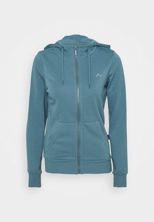 ONPELINA ZIP HOOD - Zip-up hoodie - goblin blue