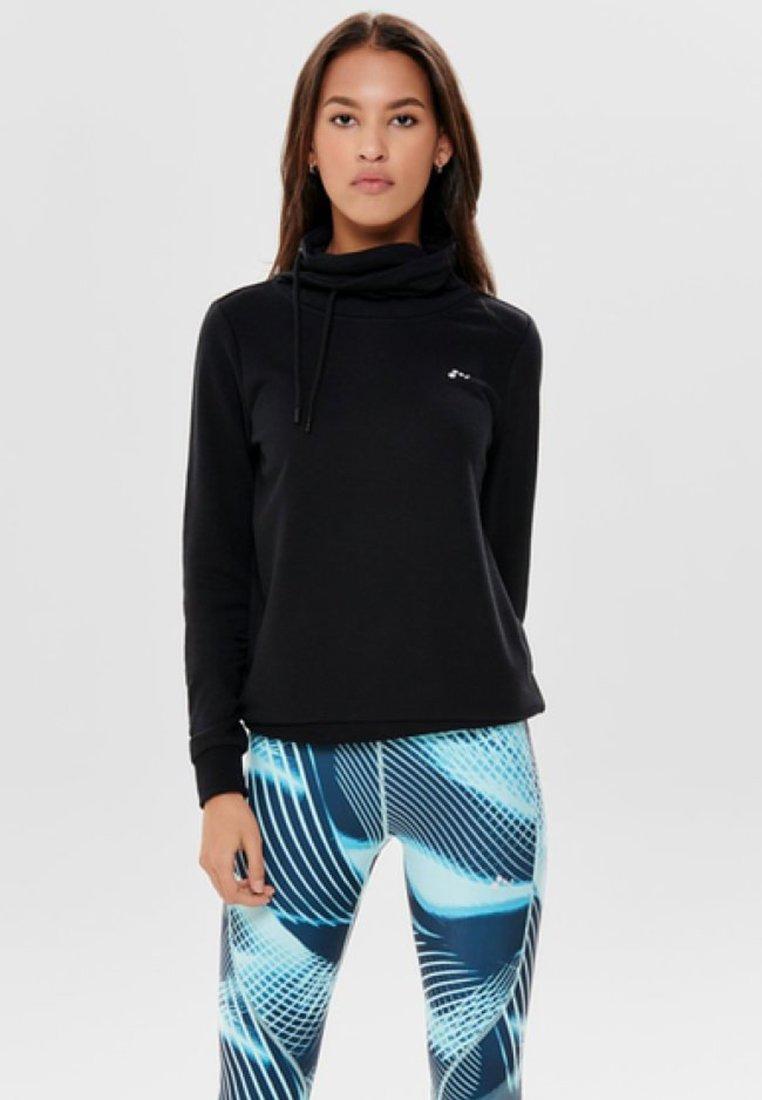 ONLY Play - Sweatshirts - black