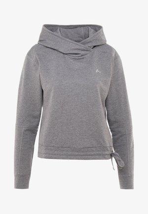 ONPJULITTA HOOD  - Bluza z kapturem - medium grey melange