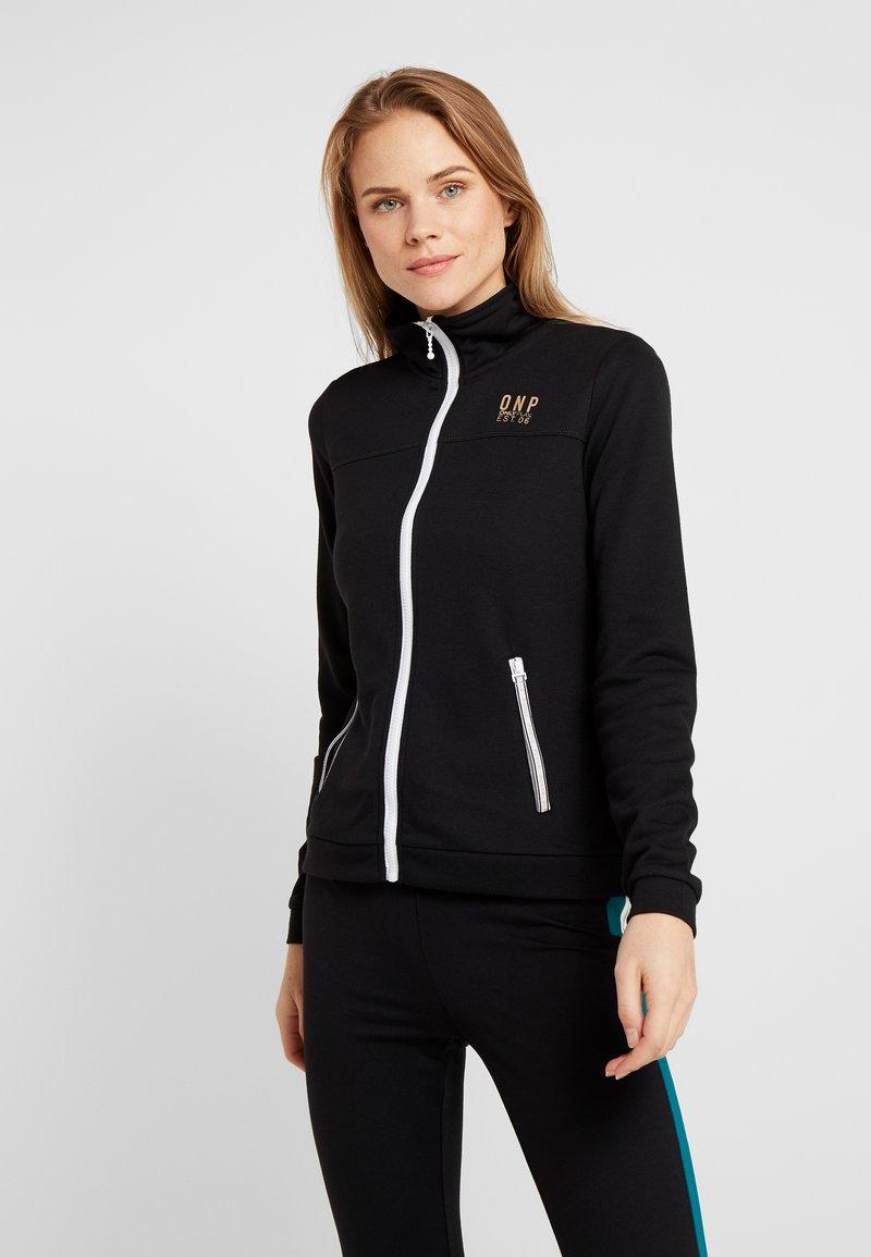 ONLY Play - ONPNAHLA  - Zip-up hoodie - black