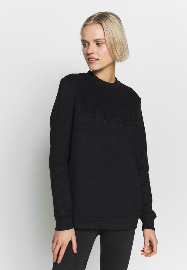 ONPDANI BRUSHED CREWNECK - Sweatshirt - black