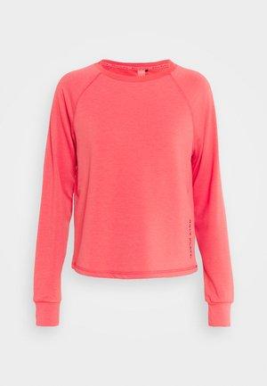 ONPPERFORMANCE CREW  - Sweatshirt - coral/black