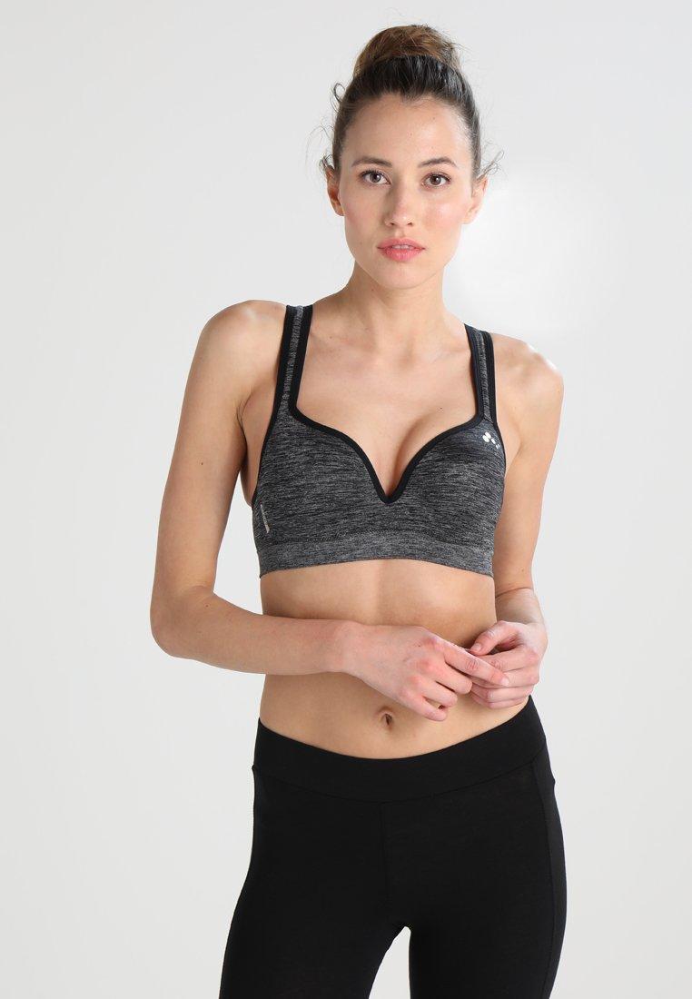ONLY Play - ONPMARTINE SEAMLESS SPORTS  BRA - Sports bra - black