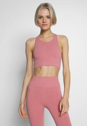 ONPJAVA CIRCULAR BRA - Sports bra - dusty rose