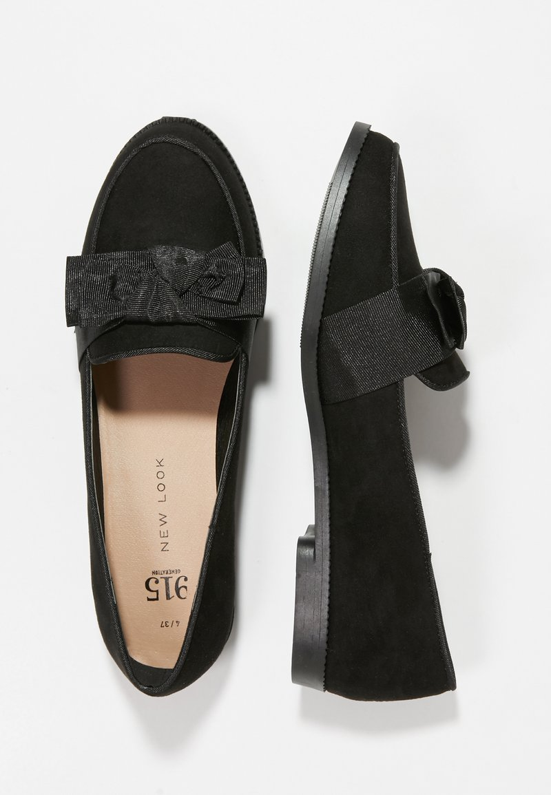 New Look 915 Generation - KAPOW BOW LOAFER - Ballet pumps - black
