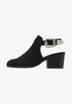 TANIA - WESTERN - Classic ankle boots - black
