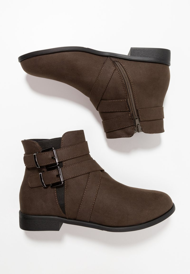 New Look 915 Generation - AYDEN STRAP ANKLE BOOT - Classic ankle boots - dark khaki