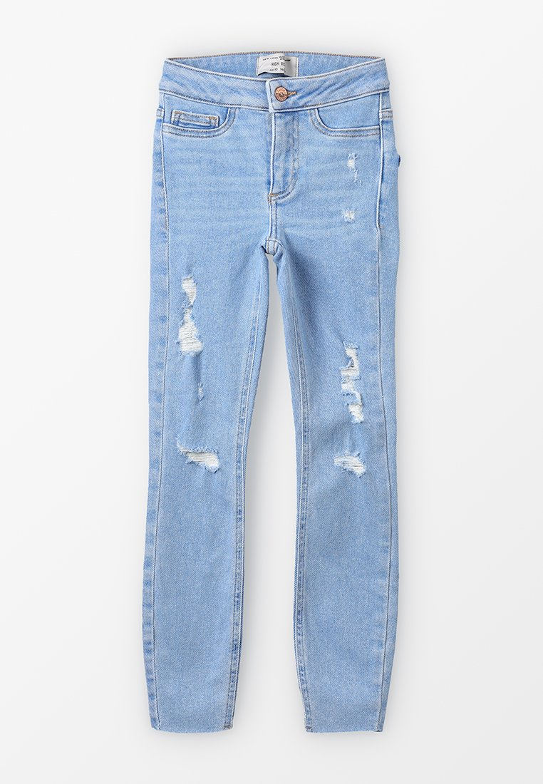 New Look 915 Generation - FLORIDA BLEACH DISCO - Jeans Skinny Fit - light blue